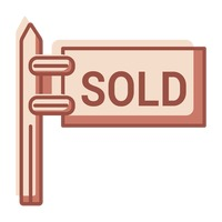 Sold sign board