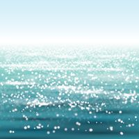 Sparkling sea background