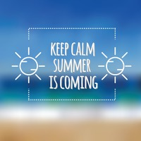 Summer Is Coming Card