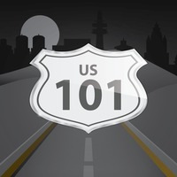 Popular : Us 101 route sign