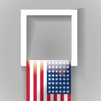 Popular : Usa flag frame