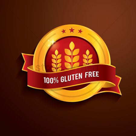 Wheats : 100 percent gluten free label