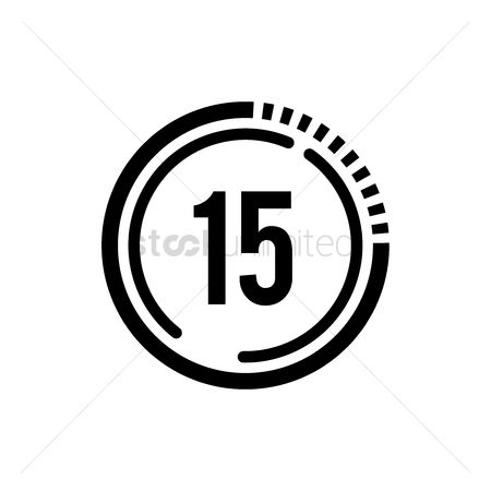 Minute : 15 seconds icon