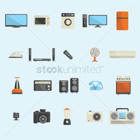 Appliances : A collection of appliances