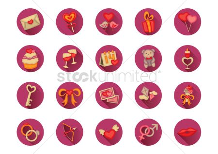 Confectionery : A collection of valentine items