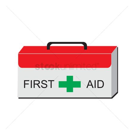 Help : A first aid kit