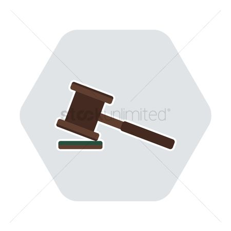 Authority : A gavel