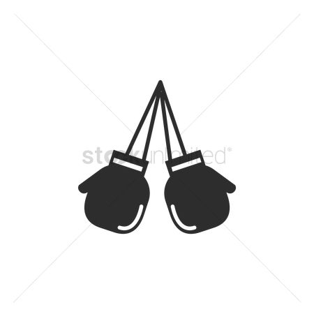 Boxing glove : A pair of boxing gloves