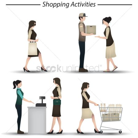 Register : A set of shopping activities