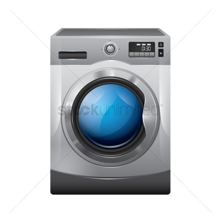 Appliances : A washing machine