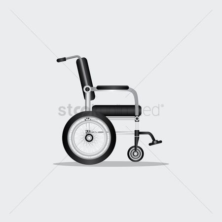 Wheelchair : A wheelchair