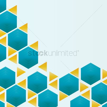 Honeycomb : Abstract background
