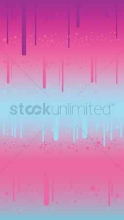 Drippings : Abstract background