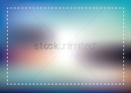 Patterns : Abstract blurry background