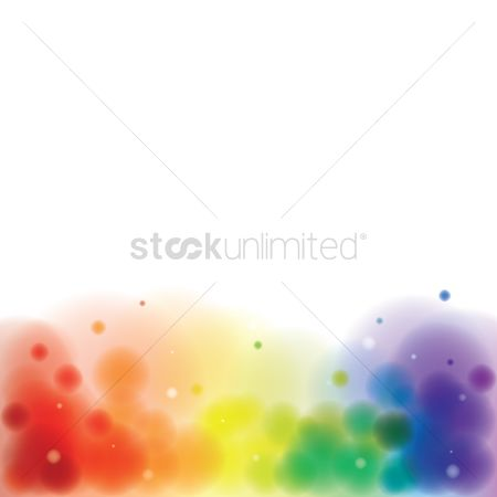 Rainbows : Abstract colorful background