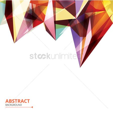 Backdrops : Abstract faceted background