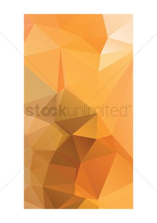 Wall : Abstract faceted wallpaper