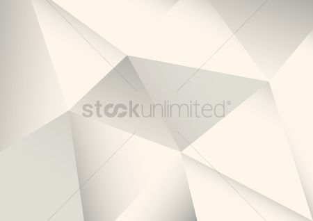 Copyspaces : Abstract faceted white background