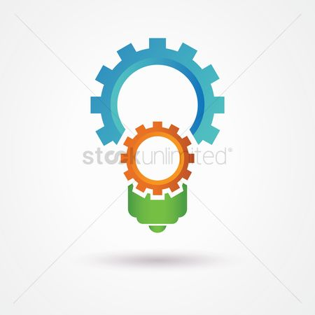 Cogwheels : Abstract logo
