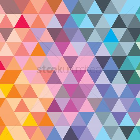 Geometric : Abstract pattern background