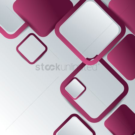 Geometric background : Abstract square background