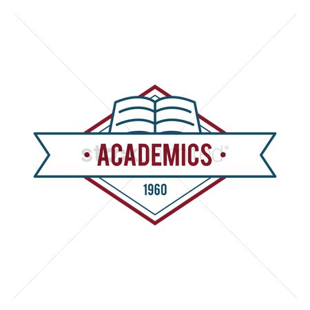 Educational banner : Academics badge design