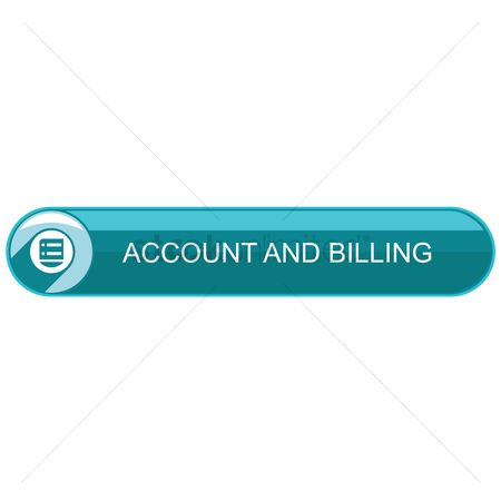 Billing : Account and billing button