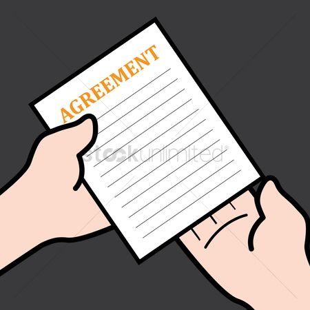 Business deal : Agreement paper