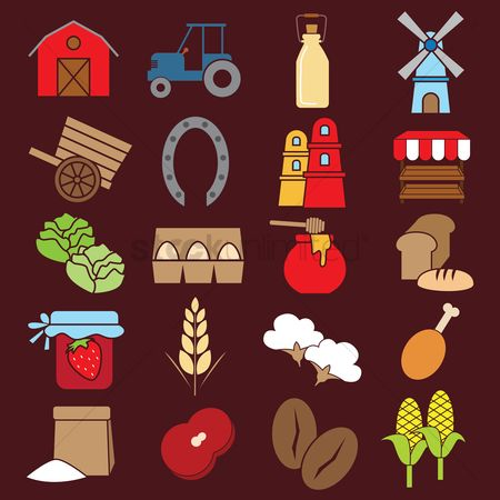 Towers : Agriculture icons