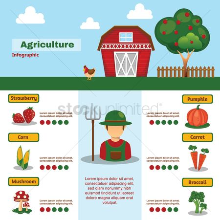 Apple : Agriculture infographic