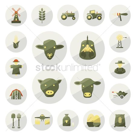 Dairy : Agriculture set