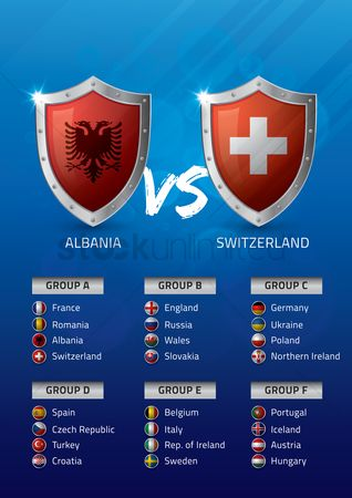 Ukraine : Albania vs switzerland