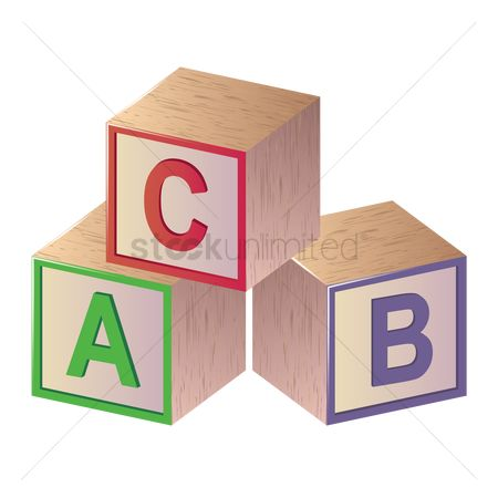 Blocks : Alphabet cube