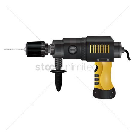Handy : An electric drill