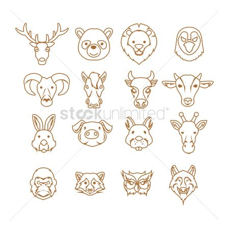 Cow : Animal icons collection