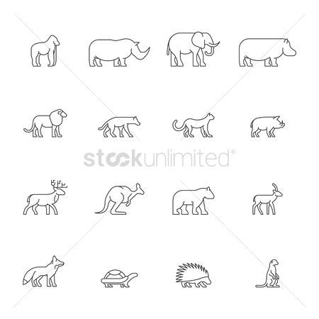 Huge : Animal icons pack