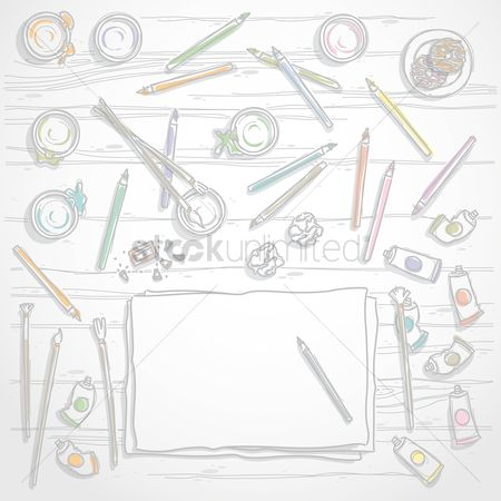 Brushes : Artistic workspace