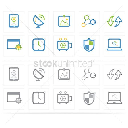 Shield : Assorted icons