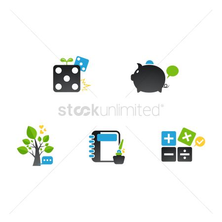 Dice : Assorted icons