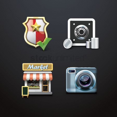 Market : Assorted icons