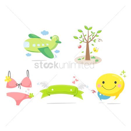 Swimsuit : Assorted icons