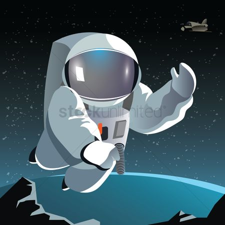 Cosmonauts : Astronaut on a planet
