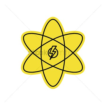 Charging icon : Atomic energy generator