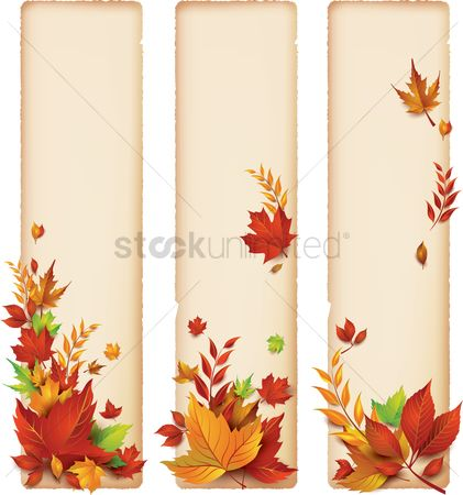 Sets : Autumn themed banner