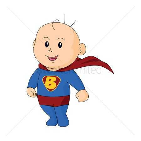 Babies : Baby in superman dress