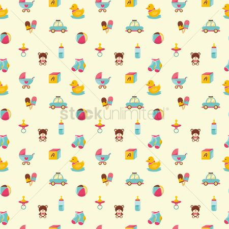 Sock : Baby items background