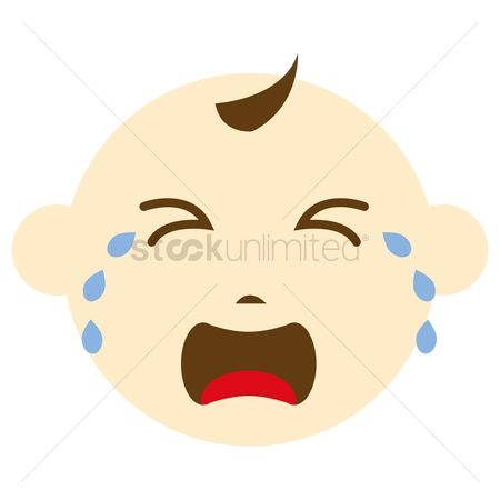 Free Cartoon Crying Babies Stock Vectors Stockunlimited
