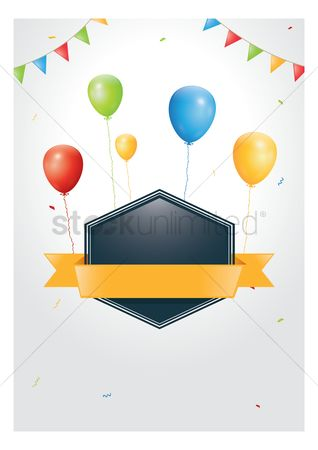 Cloth : Balloon banner