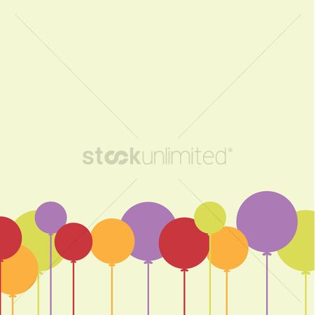 Party : Balloons background
