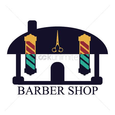 Awning : Barber shop pole